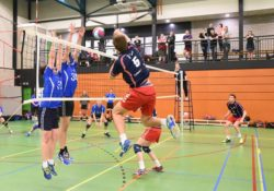 Gouda Goverwelle - Sport - Volleybal training