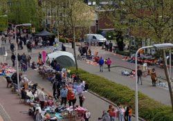Gouda Goverwelle - Wijk - Vrijmarkt Koningsdag