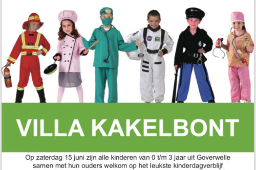 Gouda Goverwelle - Activiteiten - Opendag / zomerfeest kindercentrum Villakakelbont