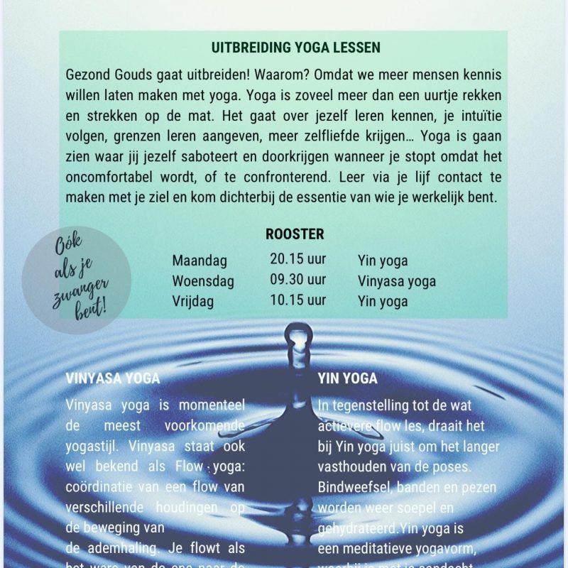 Gouda Goverwelle - Activiteiten - Volwassenen - Yogalessen