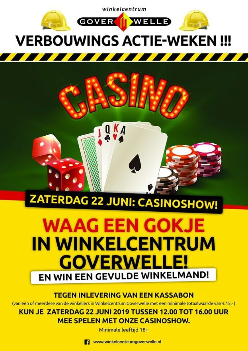 Gouda Goverwelle - Activiteiten - Wijk - Casinoshow