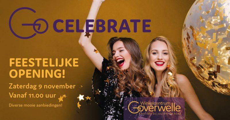 Gouda Goverwelle - Activiteiten - Wijk - Feestelijke opening Winkelcentrum