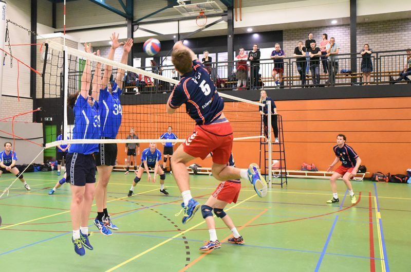 Gouda Goverwelle - Activiteiten - Sport - Volleybal training