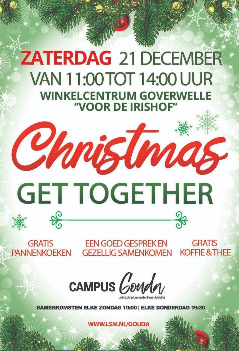 Gouda Goverwelle - Activiteiten - Wijk - Christmas Get Together!