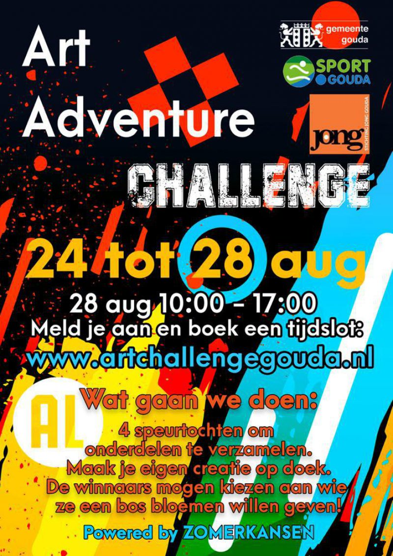 Gouda Goverwelle - Activiteiten - Kinderen - Art Challenge Gouda