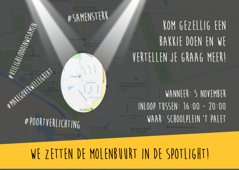 Gouda Goverwelle - Activiteiten - Wijk - De Molenbuurt in de SPOTLIGHT