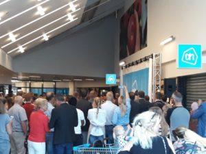 Gouda Goverwelle - Nieuws - Winkelcentrum - En hij is weer open (Albert Heijn)