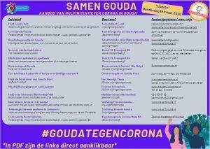 Gouda Goverwelle - Nieuws - Goverwelle - Aanbod van hulpinitiatieven Corona in Gouda (update 27-3)