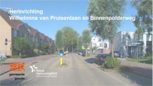 Gouda Goverwelle - Nieuws - Goverwelle - Herinrichting Wilhelmina van Pruisenlaan en Binnenpolderweg