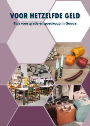 Gouda Goverwelle - Nieuws - Goverwelle - Boekje 'Voor hetzelfde geld' met adressen voor gratis en goedkoop in Gouda