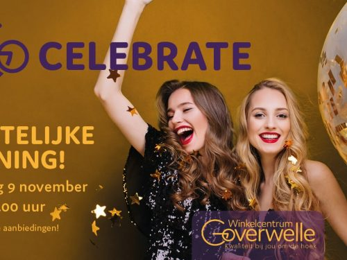 Gouda Goverwelle - Winkelcentrum - Feestelijke opening Winkelcentrum Goverwelle
