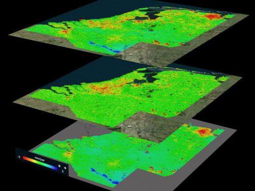 Gouda Goverwelle - Goverwelle - Verzakking van de bodem