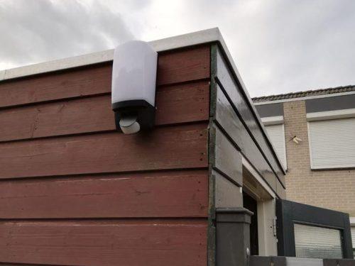 Gouda Goverwelle - Wijkteam - Eerste lampen hangen in Molenbuurt!