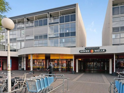 Gouda Goverwelle - Winkelcentrum - Reportage werkzaamheden Winkelcentrum Goverwelle