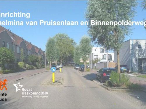 Gouda Goverwelle - Goverwelle - Herinrichting Wilhelmina van Pruisenlaan en Binnenpolderweg
