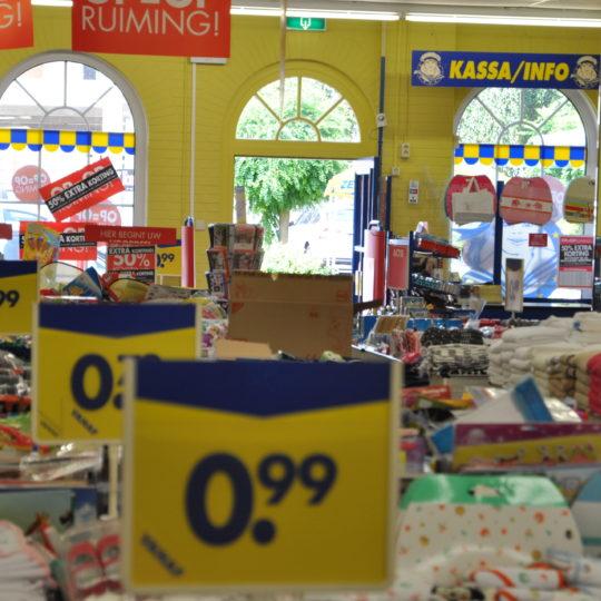 Gouda Goverwelle - Nieuws - Winkelcentrum - De Zeeman gaat tijdelijk dicht